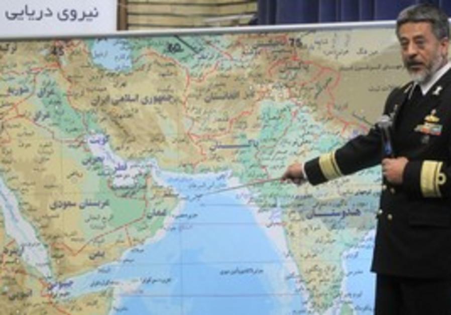 Iran's navy commander Sayari