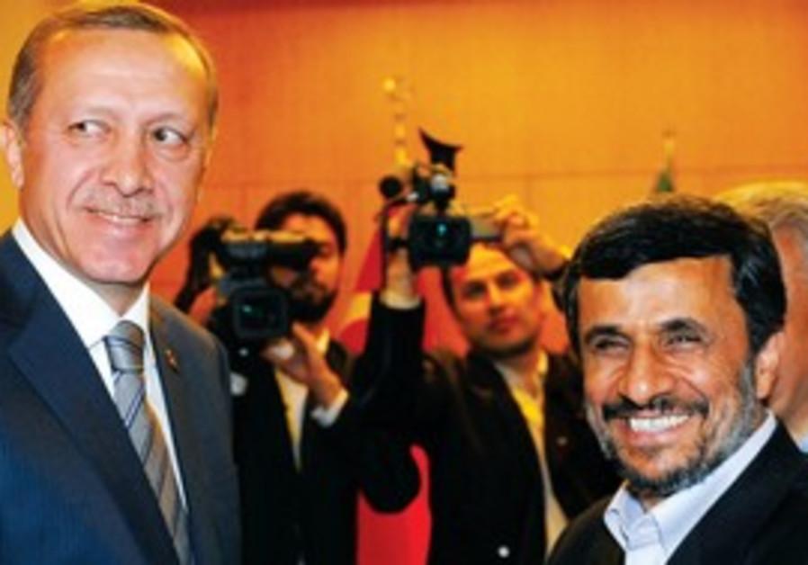 Ahmadinejad and Erdogan