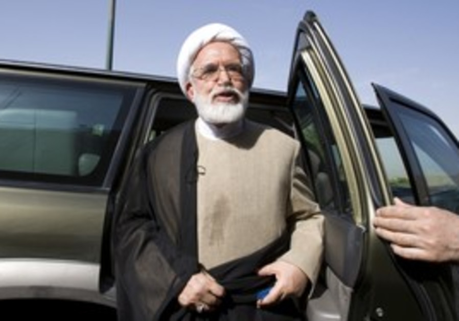 Iranian opposition candidate Mehdi Karoubi