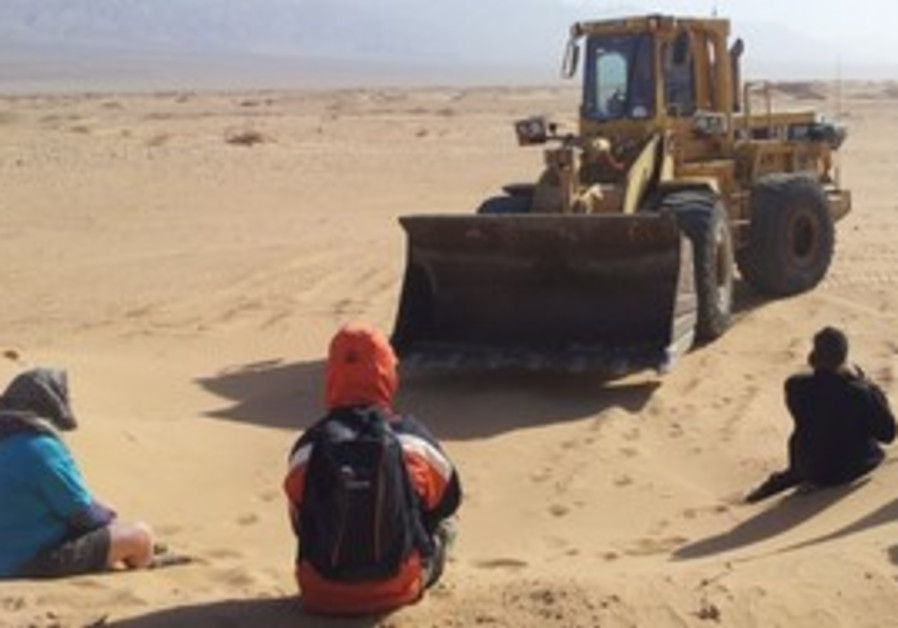 Samar sand dunes protest