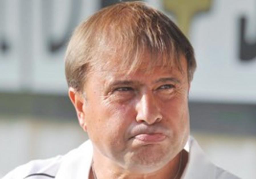Maccabi Haifa coach Elisha Levy
