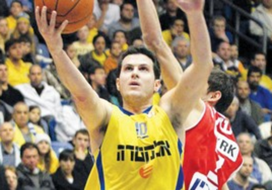 Guy Pnini of Maccabi Tel Aviv