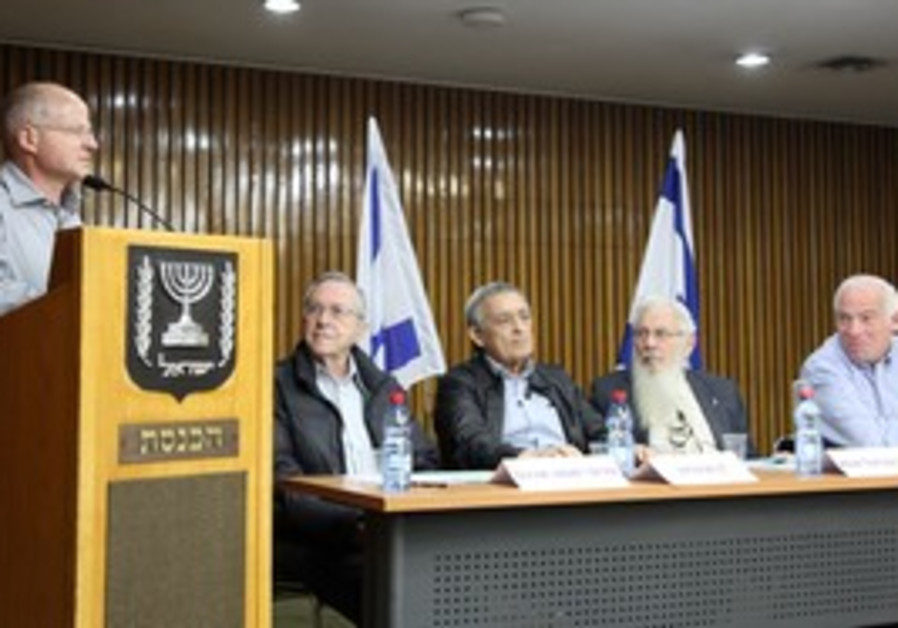 Noam Schalit at Knesset Forum