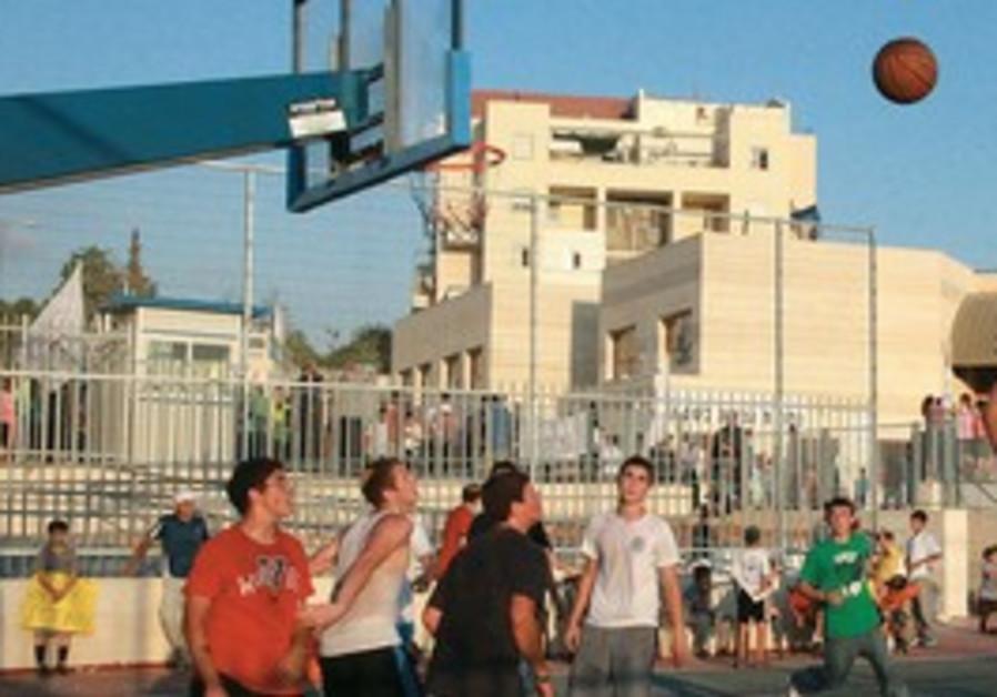 Beit Shemesh basketball game