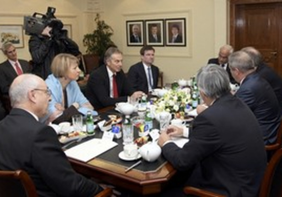 Amman talks with Blair