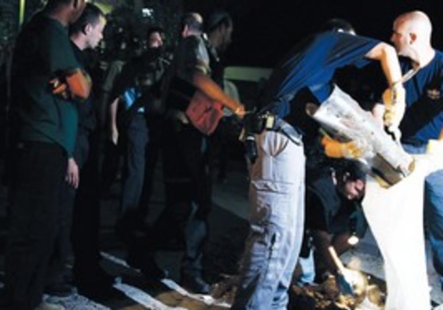 Qassam rocket [file]