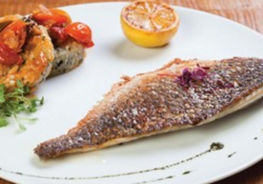 Fish dish at Italkia Ba'Tahana