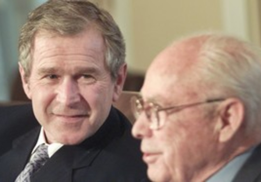 Bob Strauss and George W. Bush