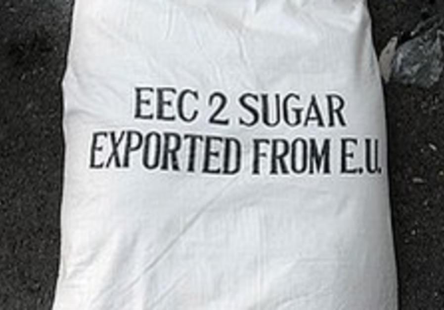 EU slams terrorists' use of phony sugar sacks