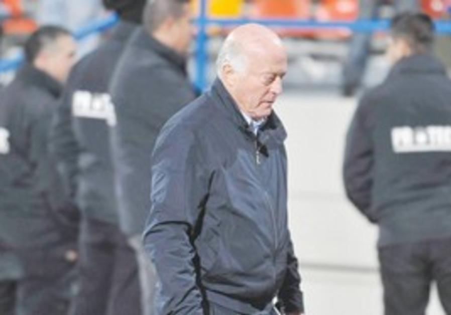 Bnei Yehuda Coach Dror Kashtan
