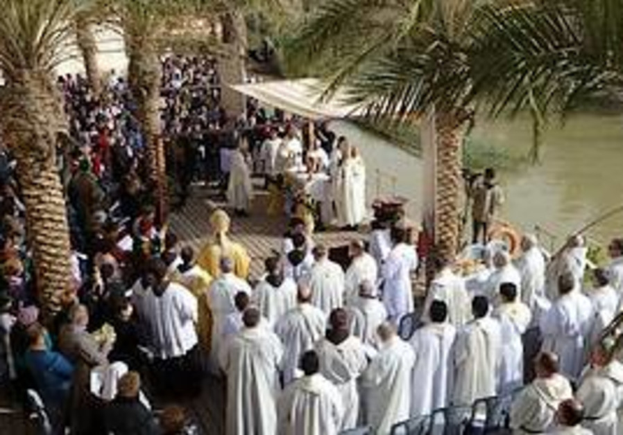 Franciscans celebrate in the Holy Land
