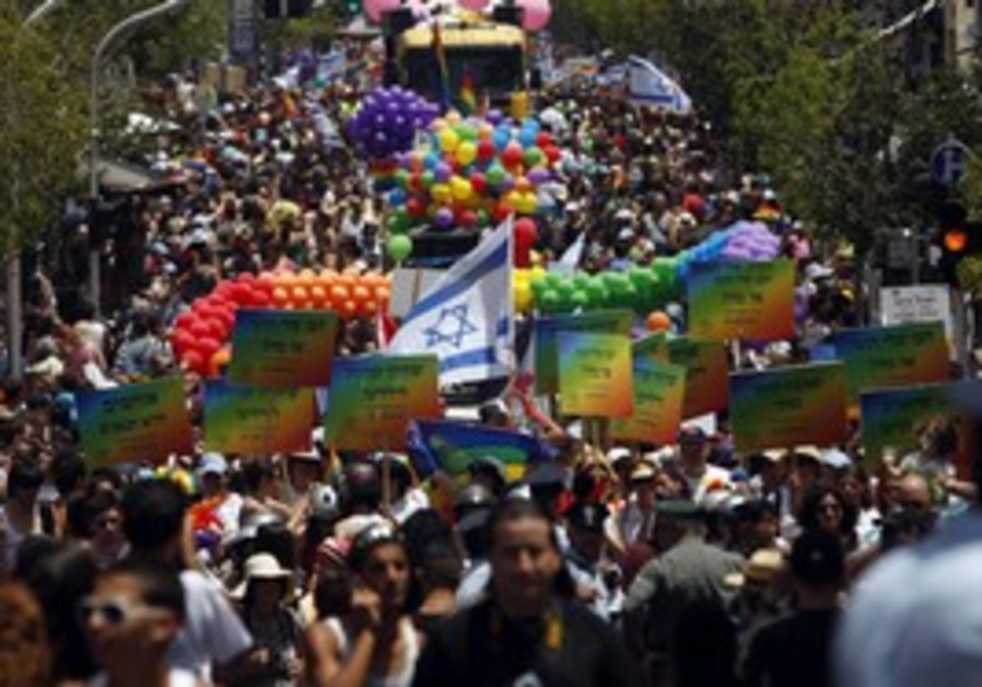 Gay pride in Israel