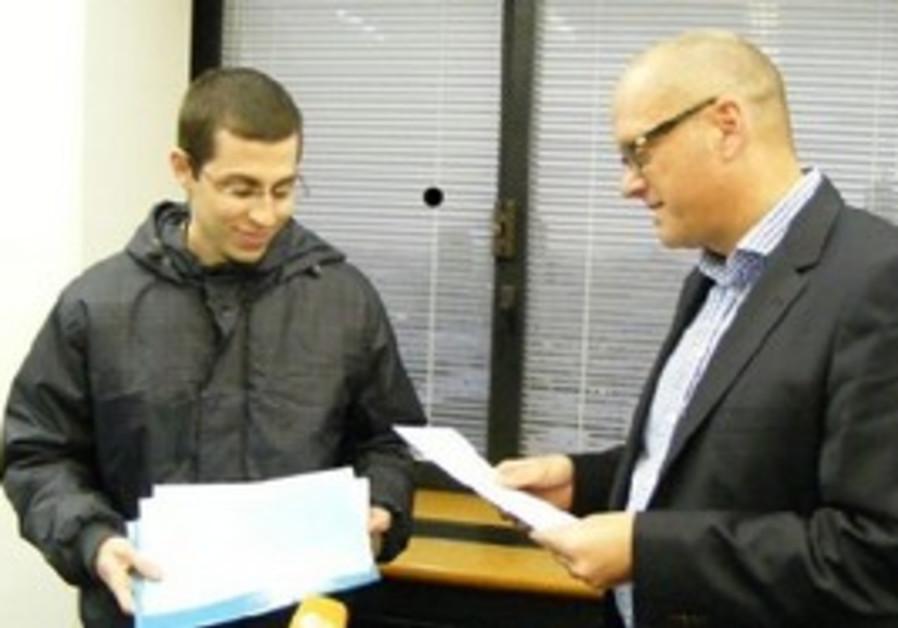 Gilad Schalit and Andreas Michaelis