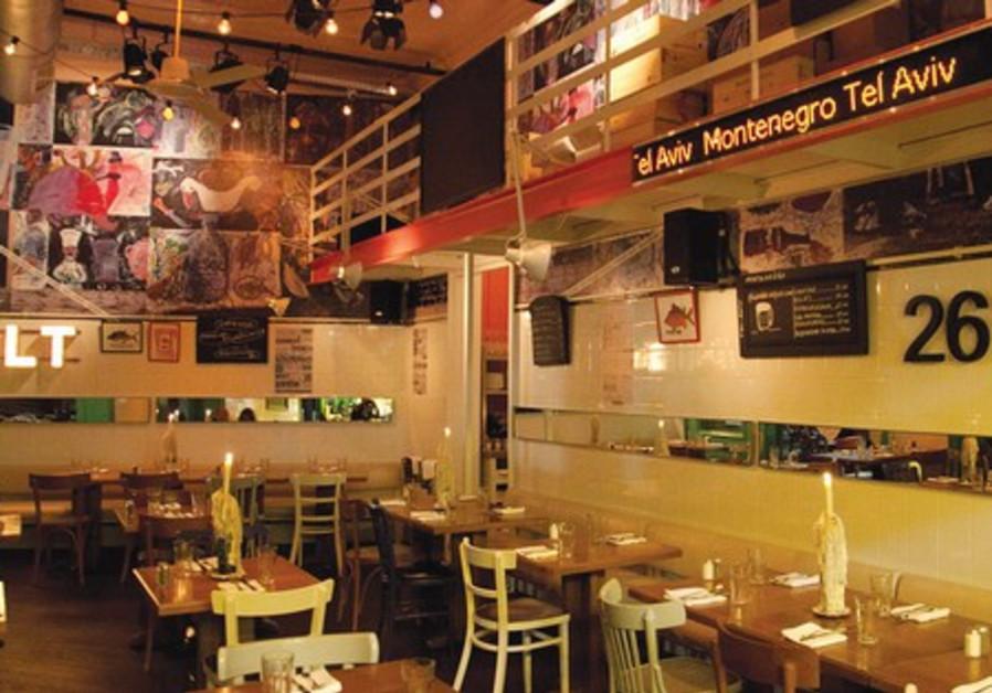 Tel Aviv's Montenegro Restaurant