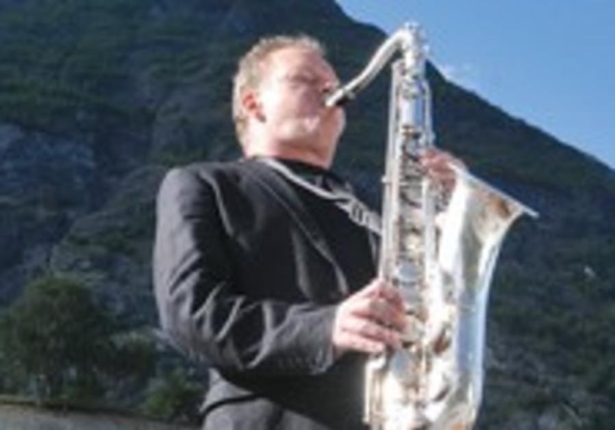 Saxophonist Karl Seglem.
