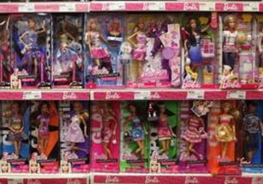 Barbie dolls displayed in a toy store [file photo]