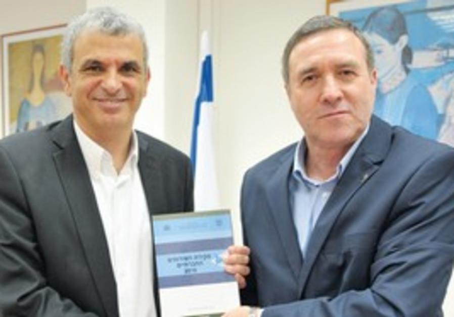 WELFARE AND SOCIAL Affairs Minister Moshe Kahlon