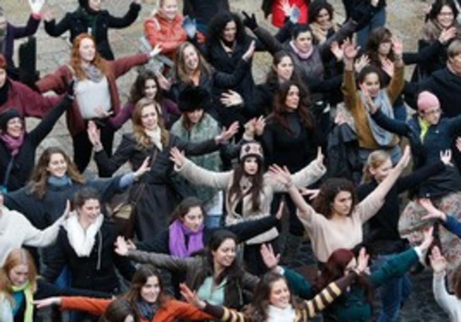 flashmob in Jerusalem