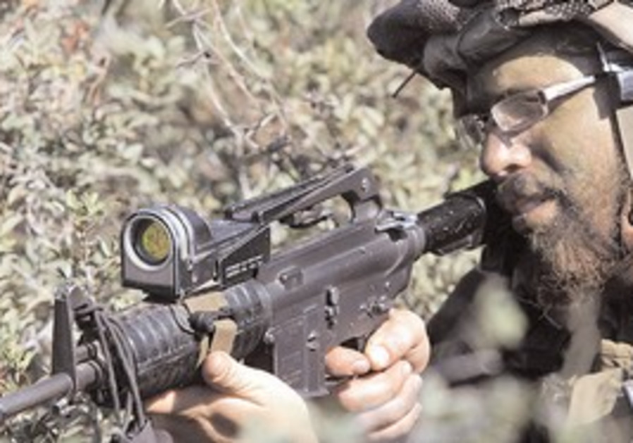 Haredi soldier in the IDF