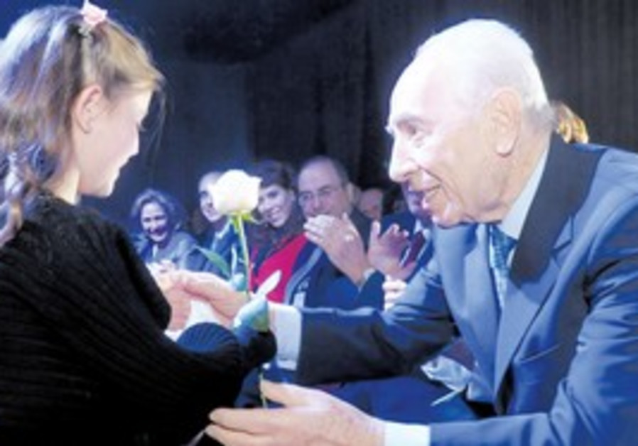 President Shimon Peres at WIZO Conference