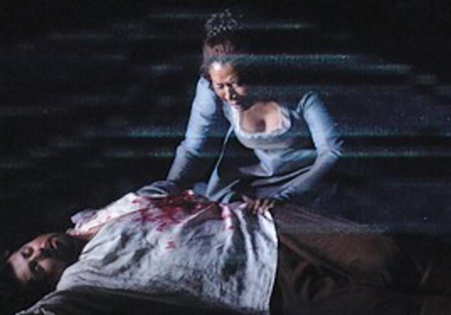 Puccini's opera 'Tosca' by The Israeli Opera