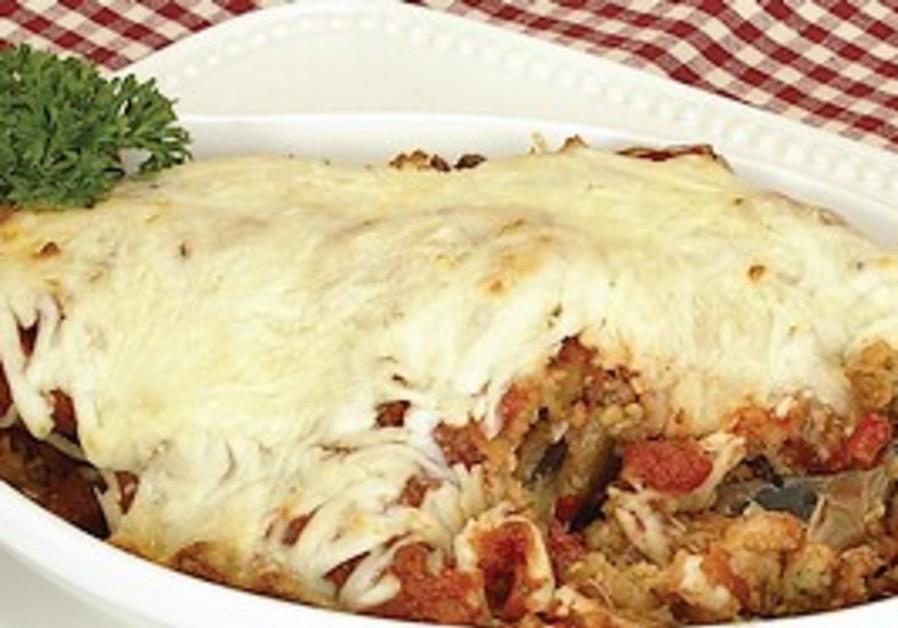 Gluten-free eggplant parmigiano