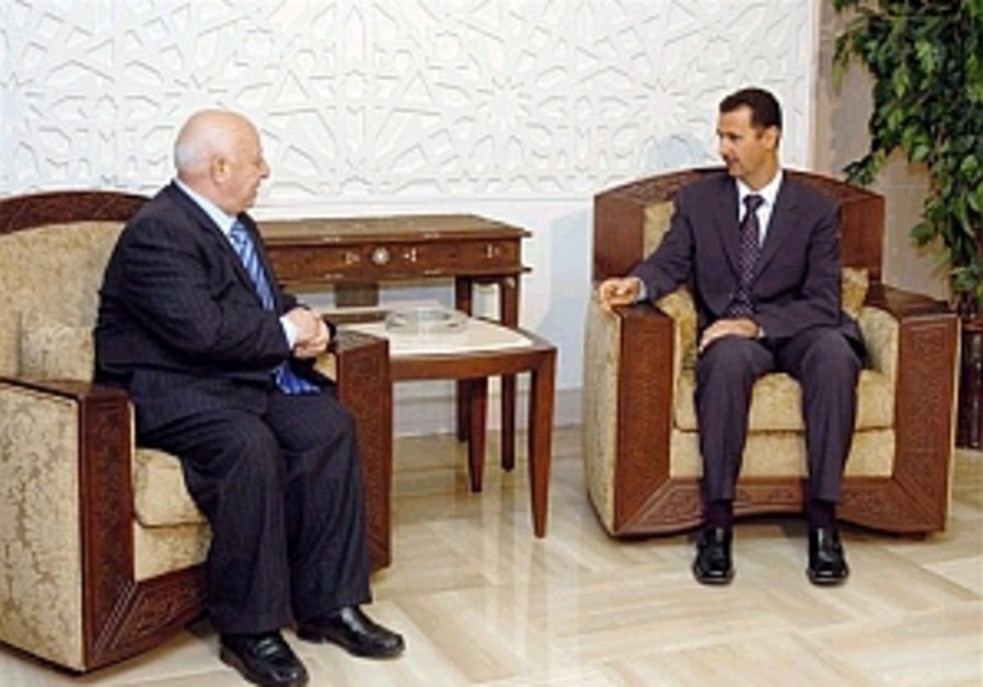 qurei and assad meeting 298