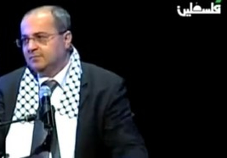 MK Ahmed Tibi at PA event