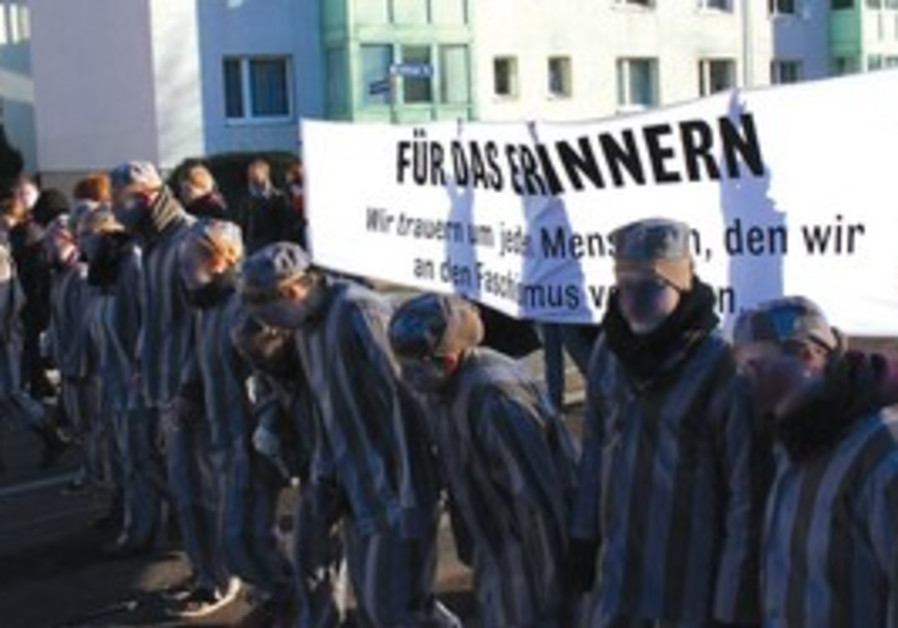 anti-Nazi demonstrators