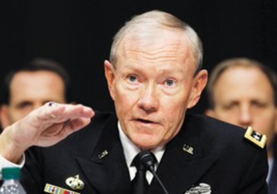 US Joint Chiefs of Staff Gen. Martin Dempsey