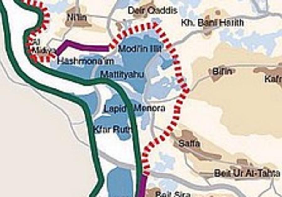Settlers erect two caravans near Bil'in