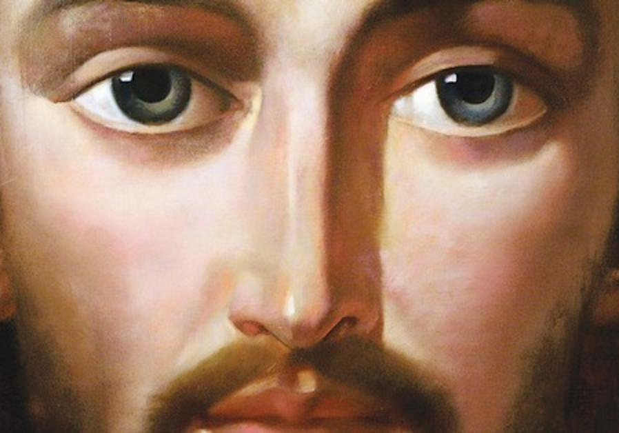 A CENTERPIECE portrait of Jesus