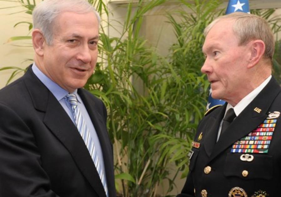 Gen. Martin Dempsey meets PM Netanyahu