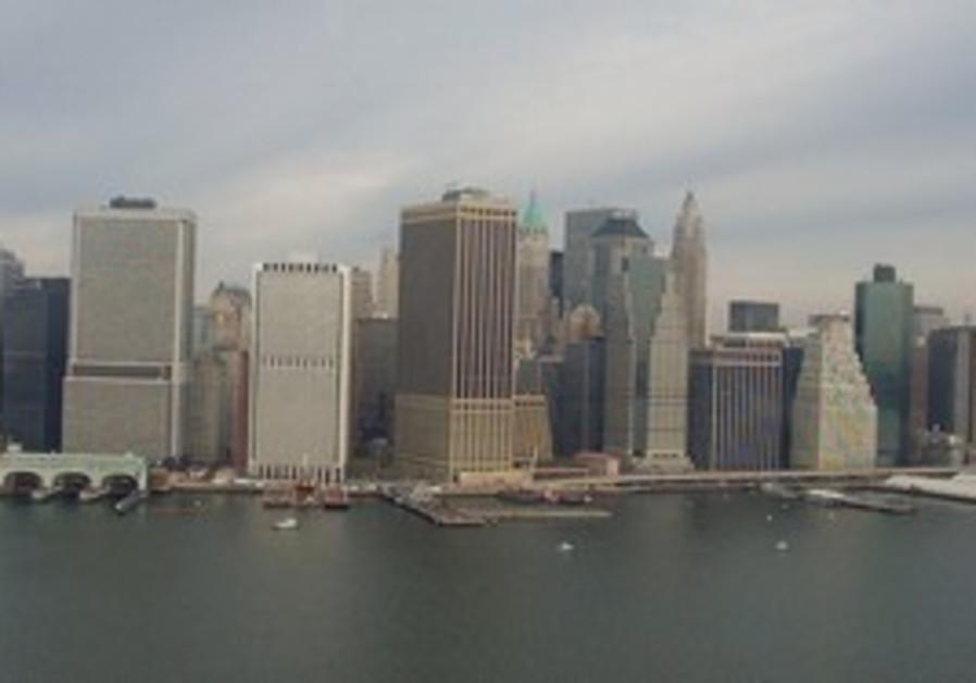 Lower Manhattan, months after 9/11