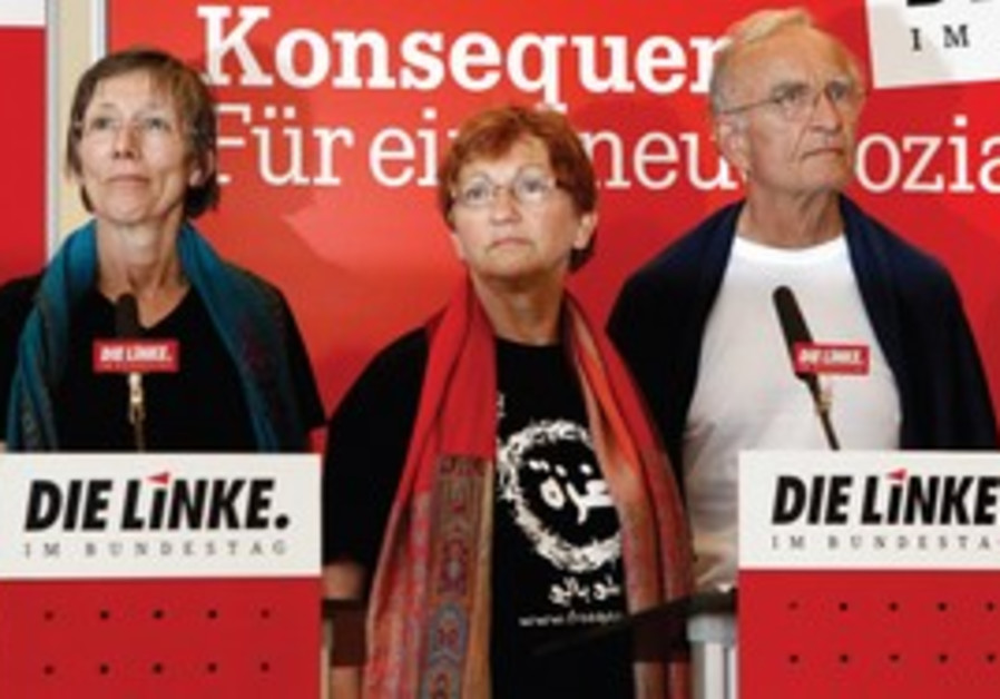 Leaders of the German Left Party.