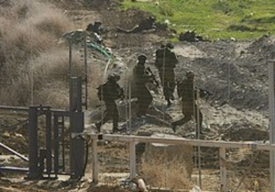 IDF foils attempted terror attack along Gaza border
