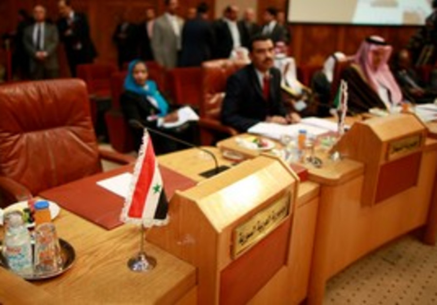 Syria's empty seat at the Arab League