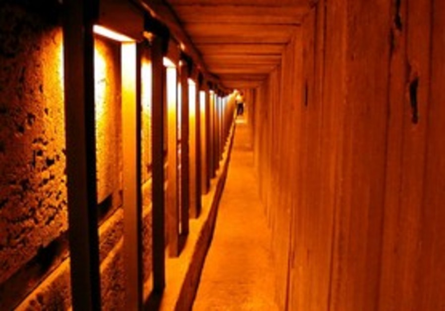 Western Wall excavated tunnel
