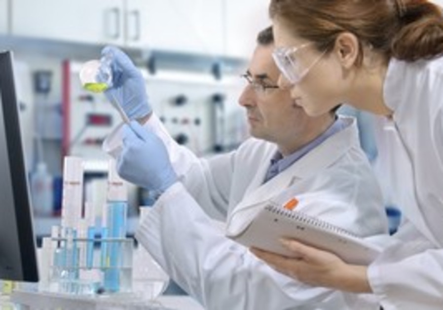 Scientists in a laboratory