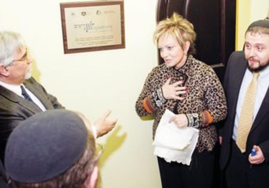 Dorit Golender, Israeli ambassador to Russia.