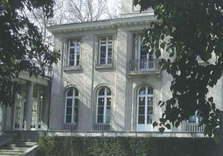 Villa Wannsee outside Berlin