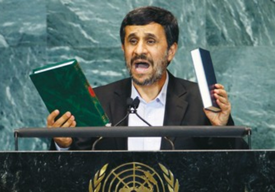 Ahmadinejad at the UN