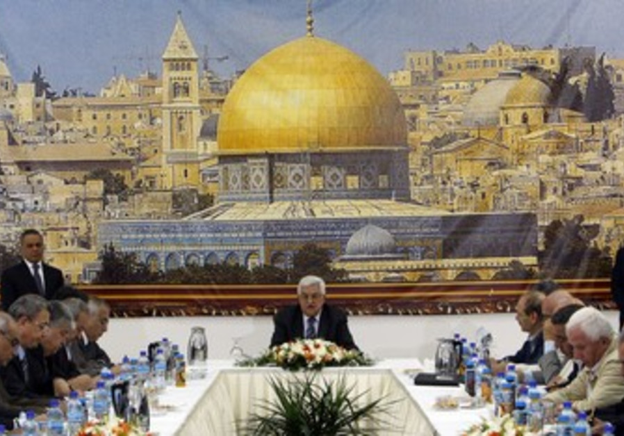 PA's Abbas heads meeting of PLO Executive  C'tee