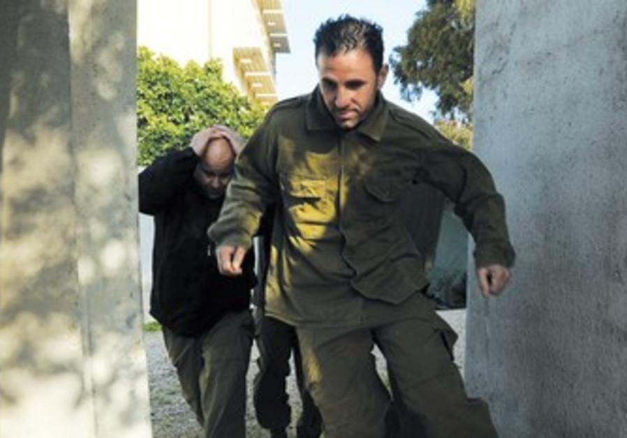 IDF reservists drill