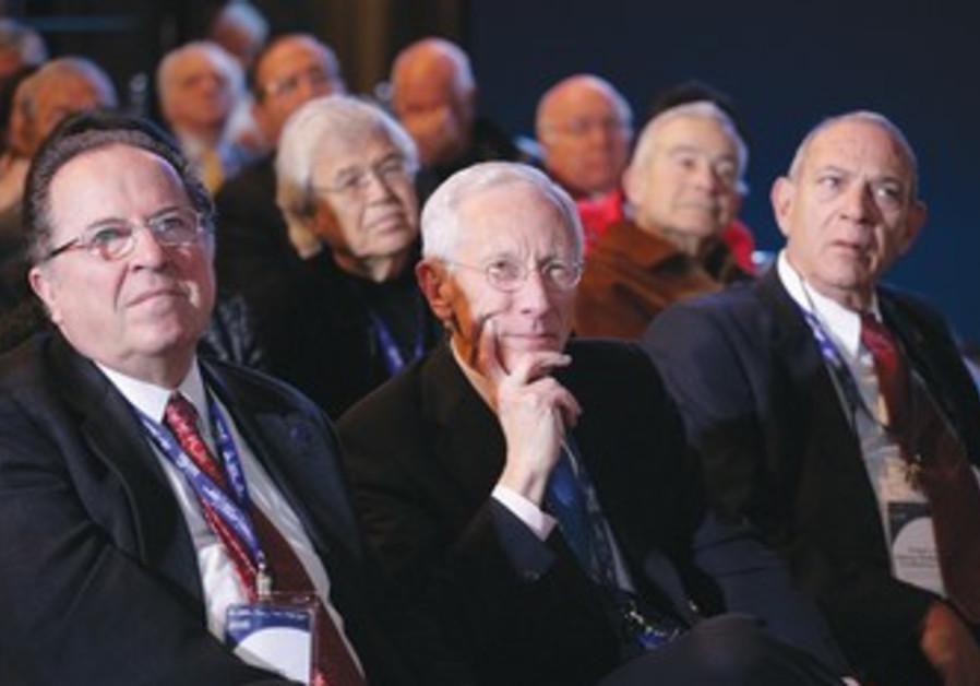 Stanley Fisher at Herzliya conference