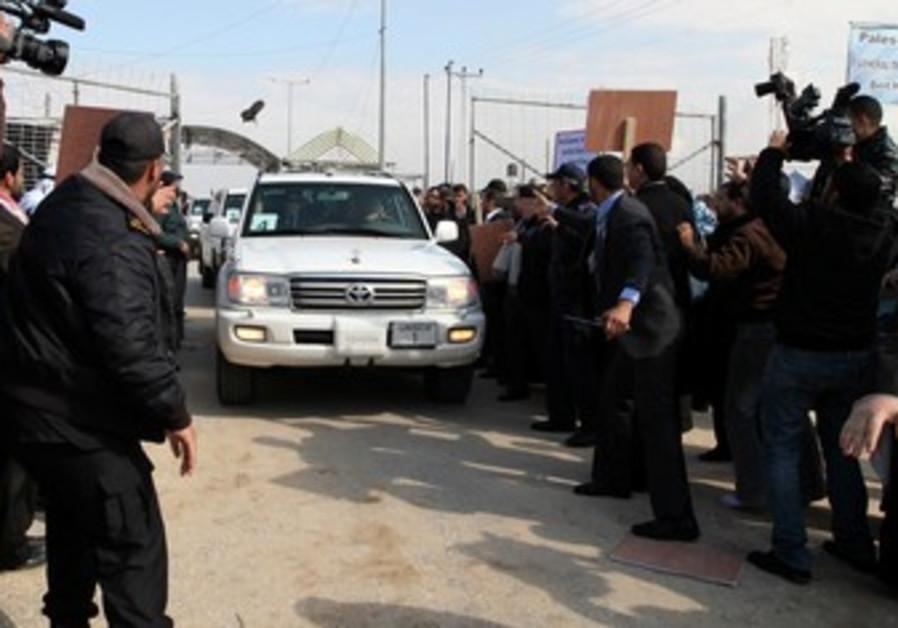 Shoe thrown at convoy of UN chief Ban Ki-moon