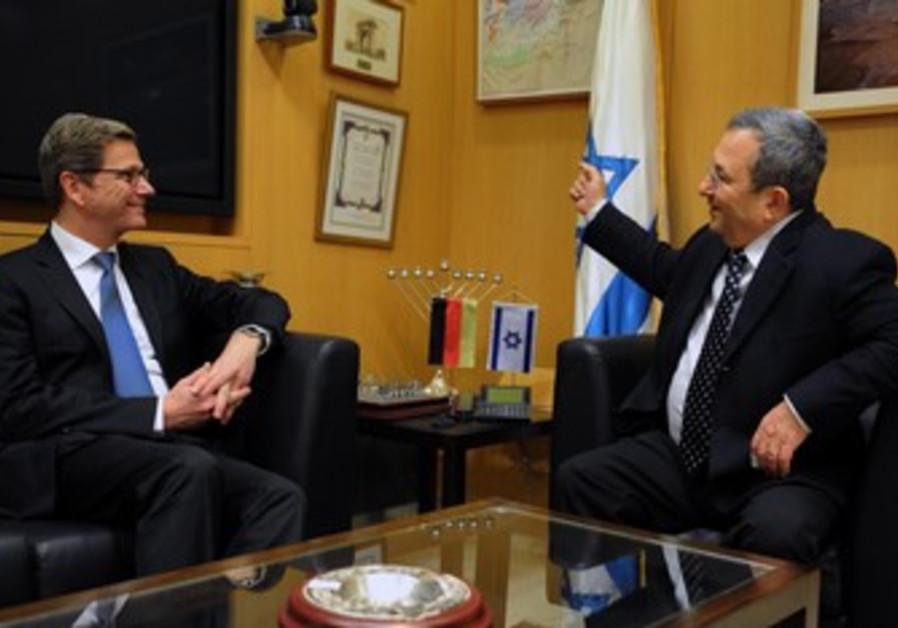 Ehud Barak, Guido Westerwelle