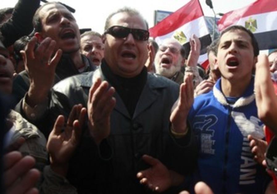 Egyptians protest after Port Said massacre
