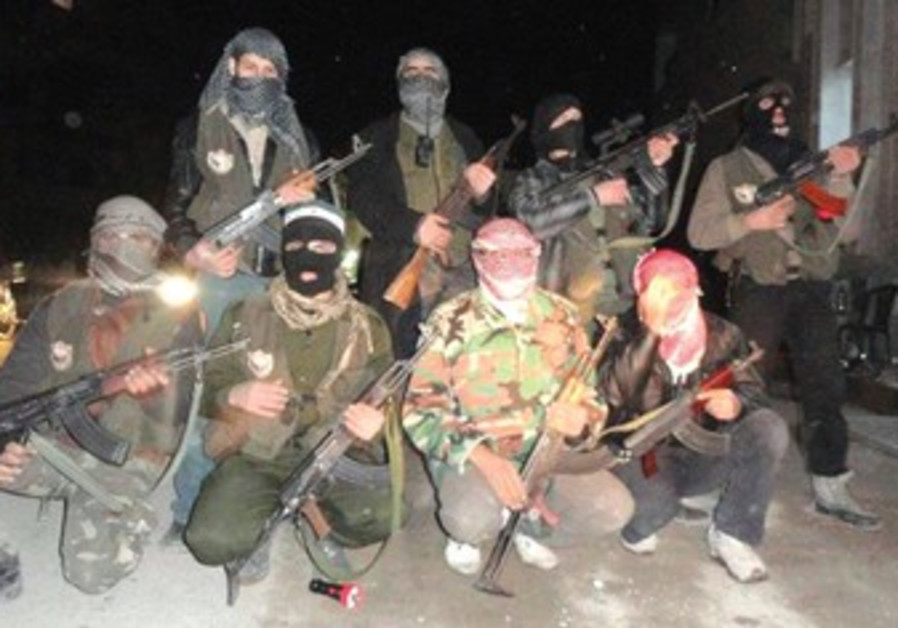 purported members of Free Syria Army