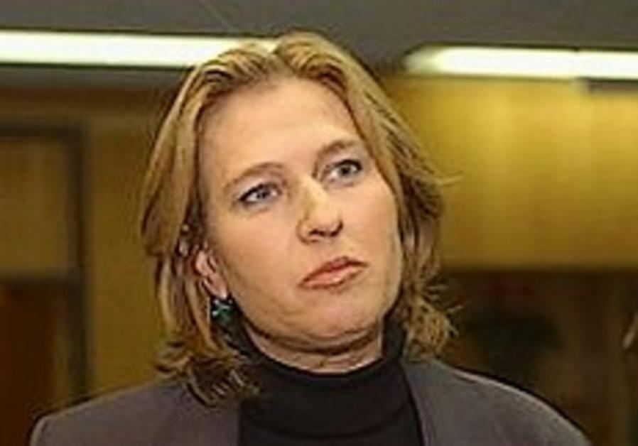 Livni: Netanyahu has no plan to present to US